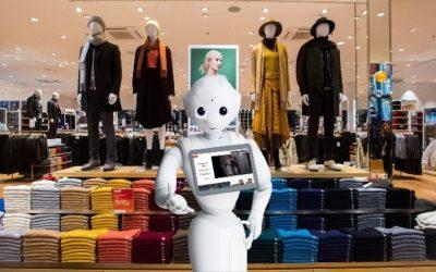 PEPPER, LE 1ER ROBOT HUMANOÏDE AU SERVICE DES CLIENTS DE DEMAIN